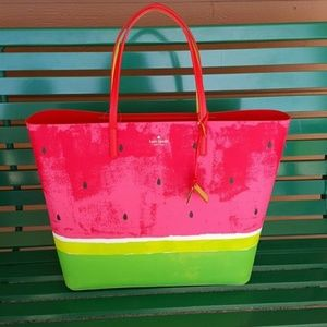 KATE SPADE Watermelon Len Make a Splash Tote Bag